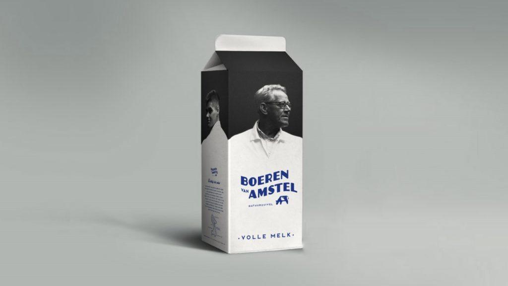 Boeren van Amstel melkpak