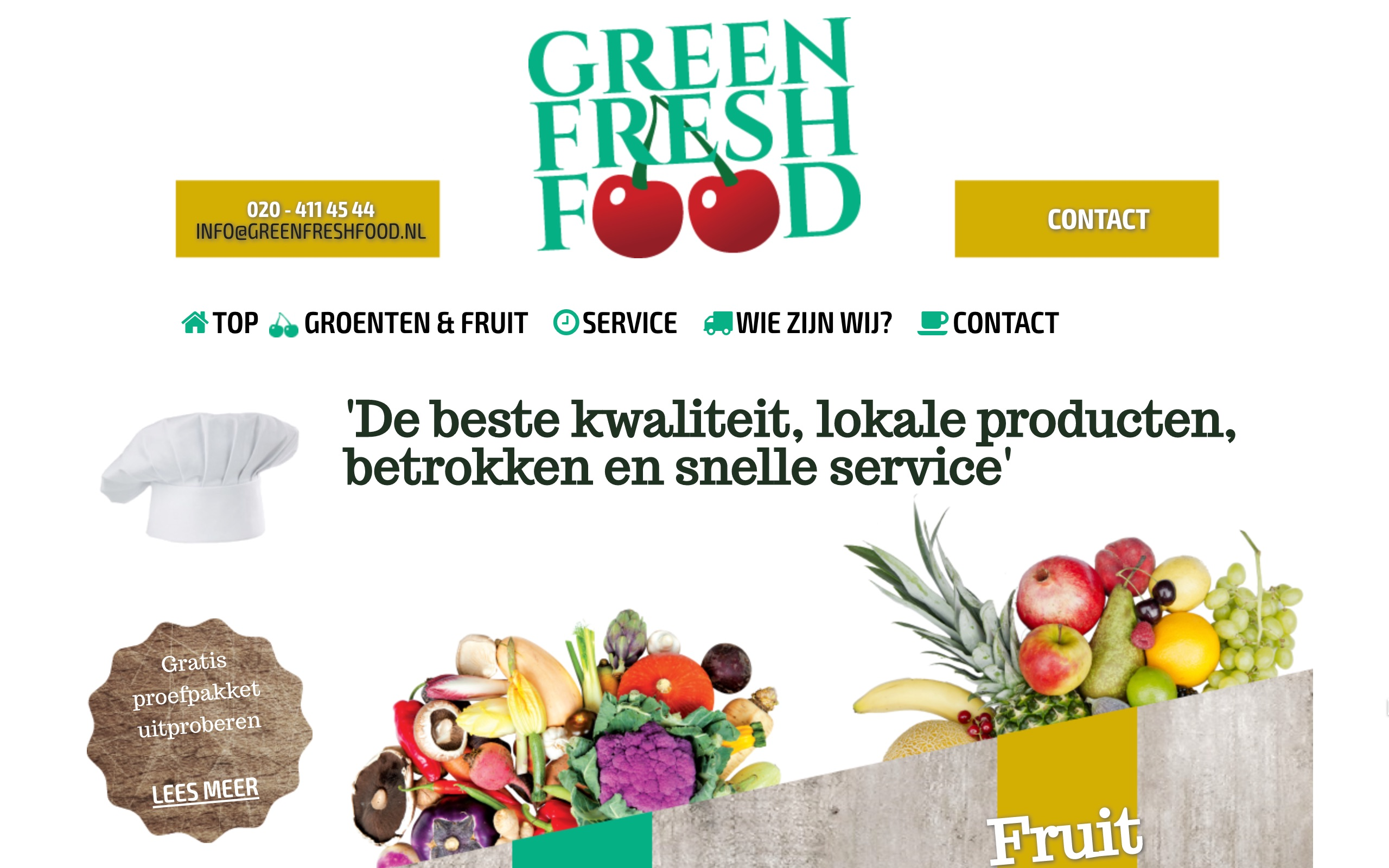Green Fresh Food