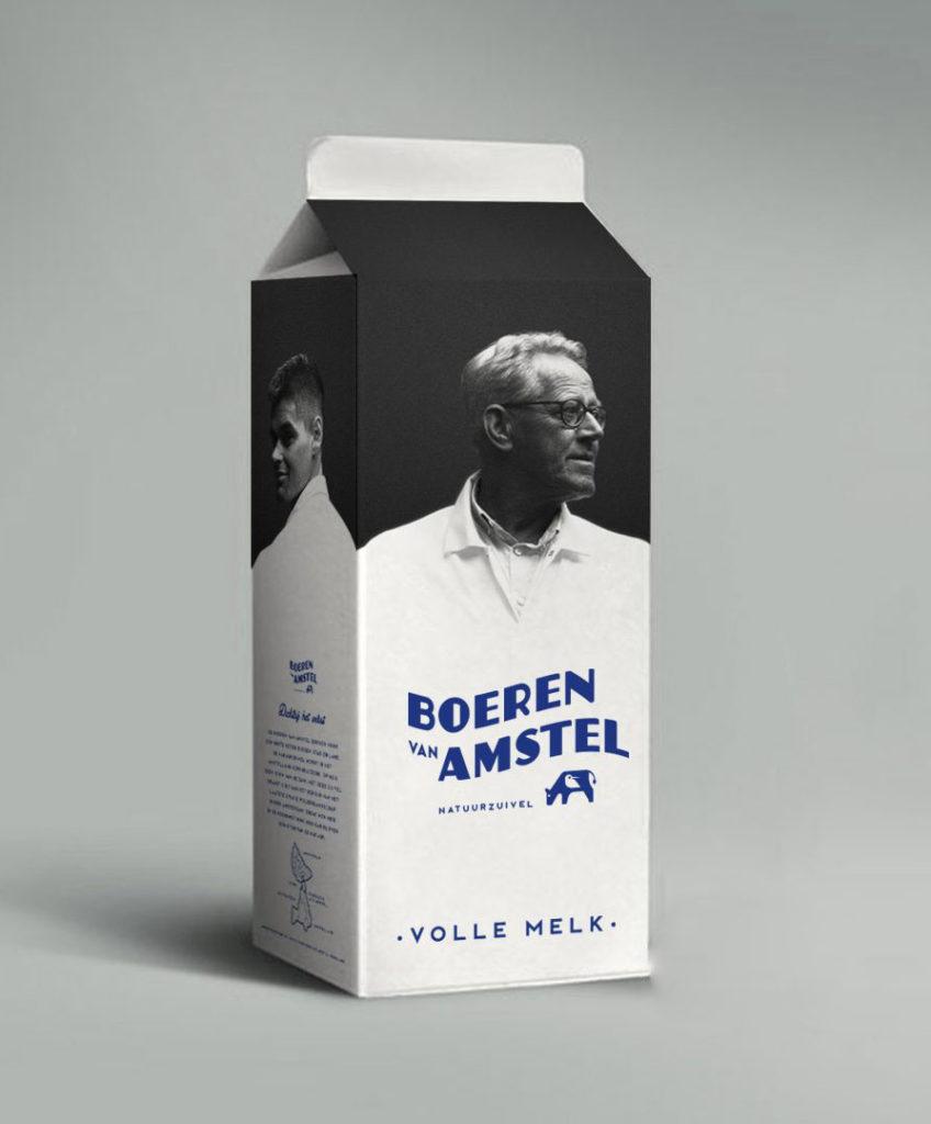 Melkpak - Boeren van Amstel